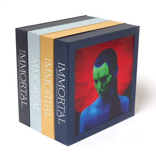 IMMORTAL – Limited Edition Boxset, 4 Covers